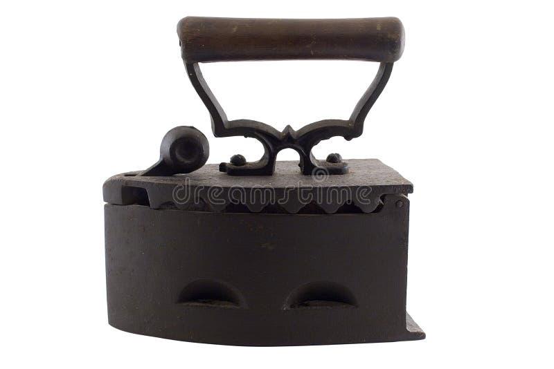 Het antieke ijzer van de steenkoolwasserij royalty-vrije stock afbeeldingen