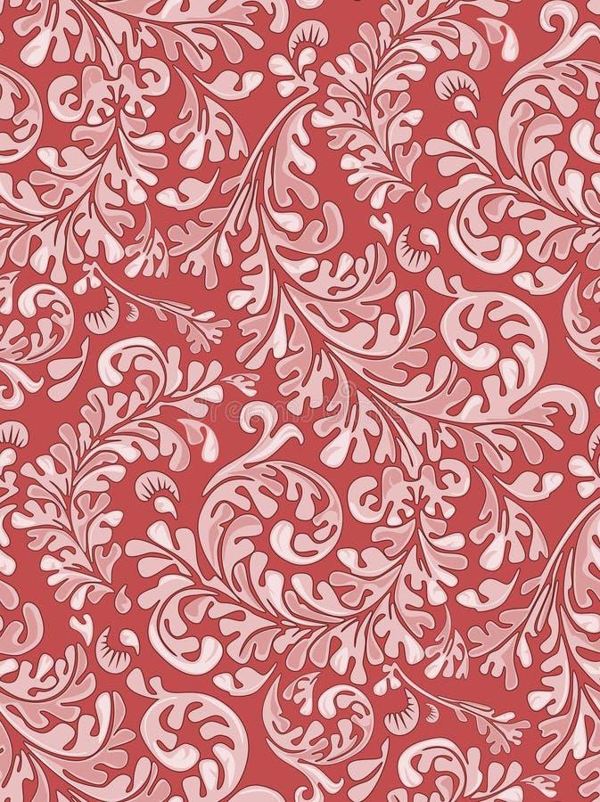 Download Het Antieke Naadloze Patroon Van Het Behang Royalty-vrije Stock Afbeeldingen - Afbeelding: 1592969