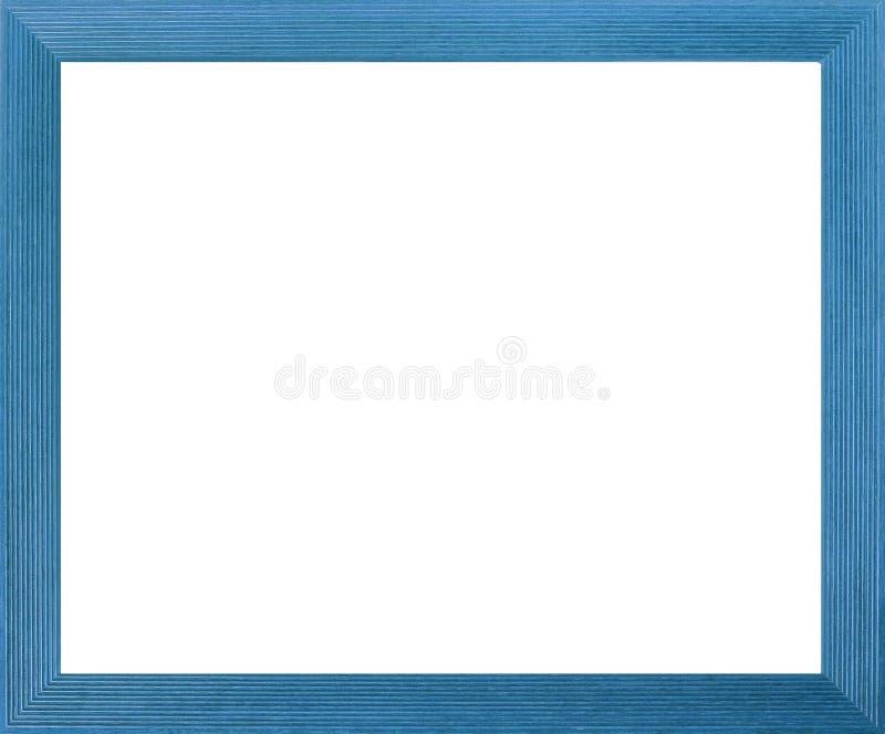 Het Aqua Gekleurde Frame van de Foto royalty-vrije illustratie