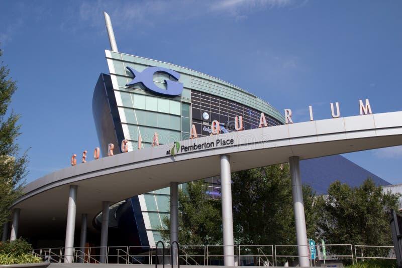 Het Aquarium van Georgië stock foto
