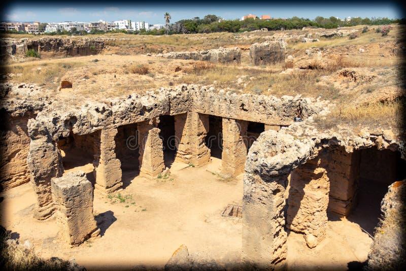 Het archeologische Graf van de uitgravingsplaats ` van Koningen ` royalty-vrije stock foto