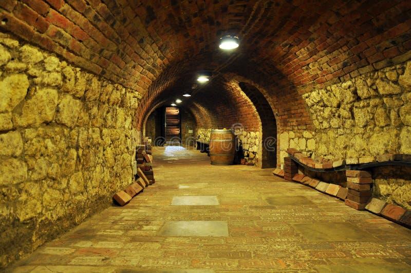 Het archief van de wijn stock foto's
