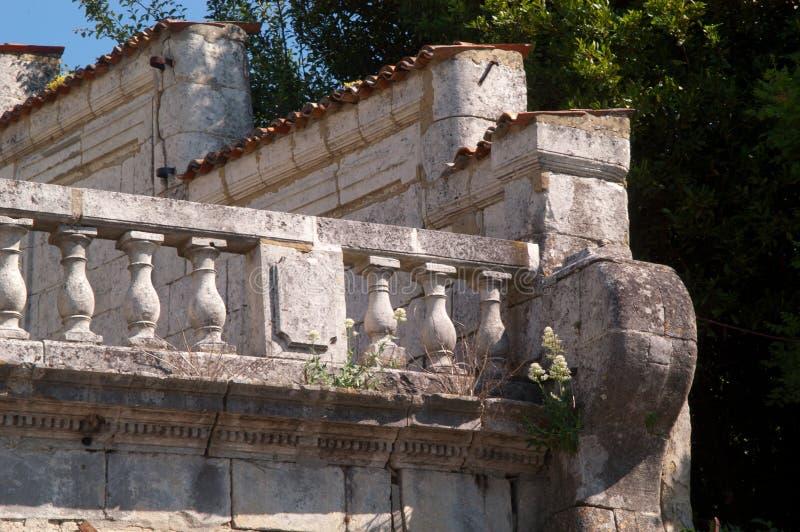 Het architecturale steen detailleren royalty-vrije stock afbeelding
