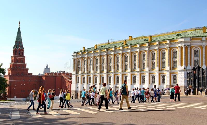 Het Arsenaal van het Kremlin stock afbeelding