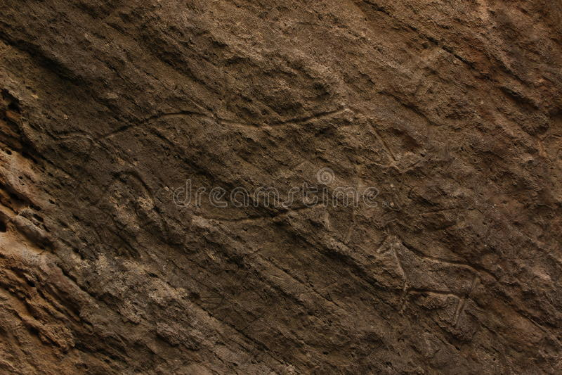 Het Art. van de Gobustanrots royalty-vrije stock afbeelding
