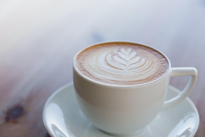 Het art. van de Lattekoffie royalty-vrije stock foto
