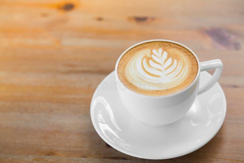 Het art. van de Lattekoffie royalty-vrije stock fotografie