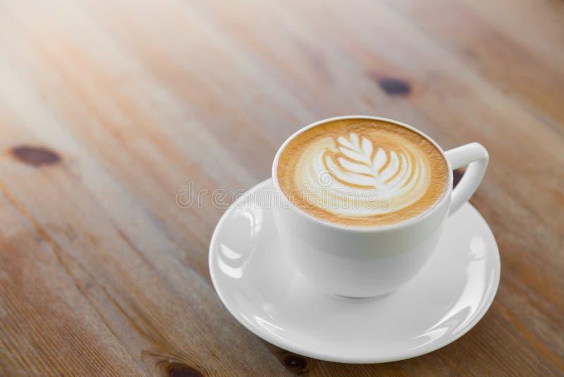 Het art. van de Lattekoffie stock afbeelding