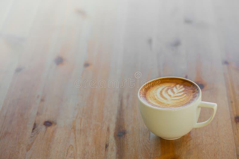Het art. van de Lattekoffie royalty-vrije stock foto's