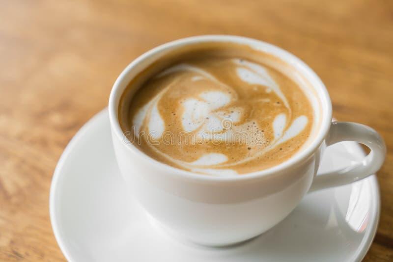 Het art. van de Lattekoffie stock foto's