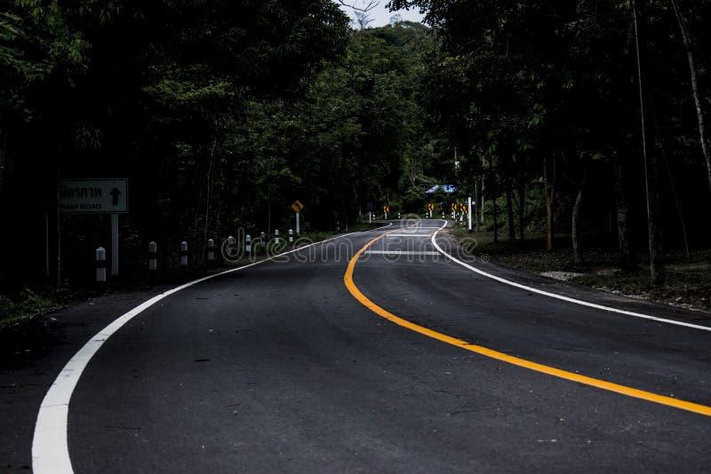 Het Art. van de Reisthailand van de wegrijweg stock foto