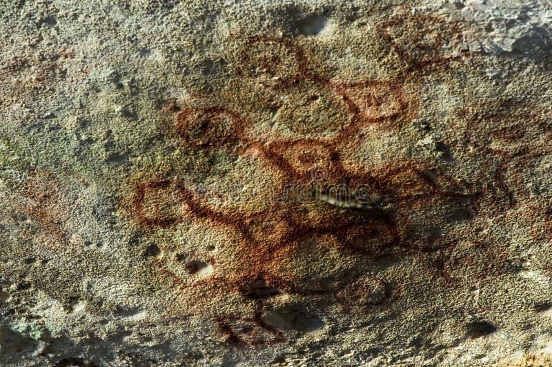 Het Art. van de rots stock afbeelding