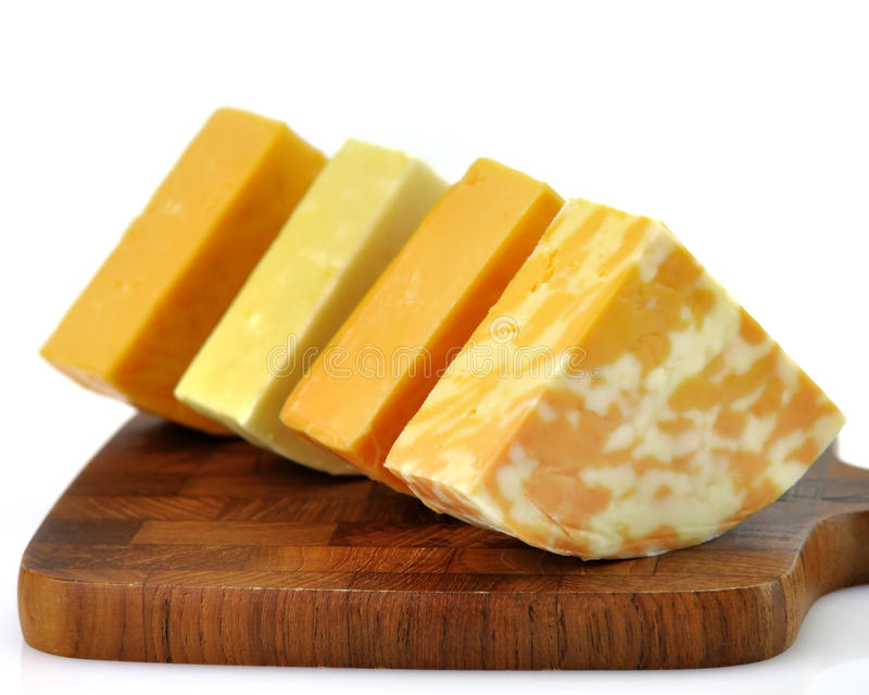 Het assortiment van de kaas stock foto's