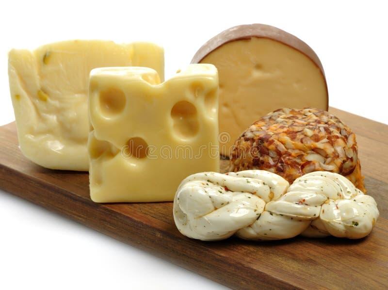 Het Assortiment van de kaas royalty-vrije stock foto's