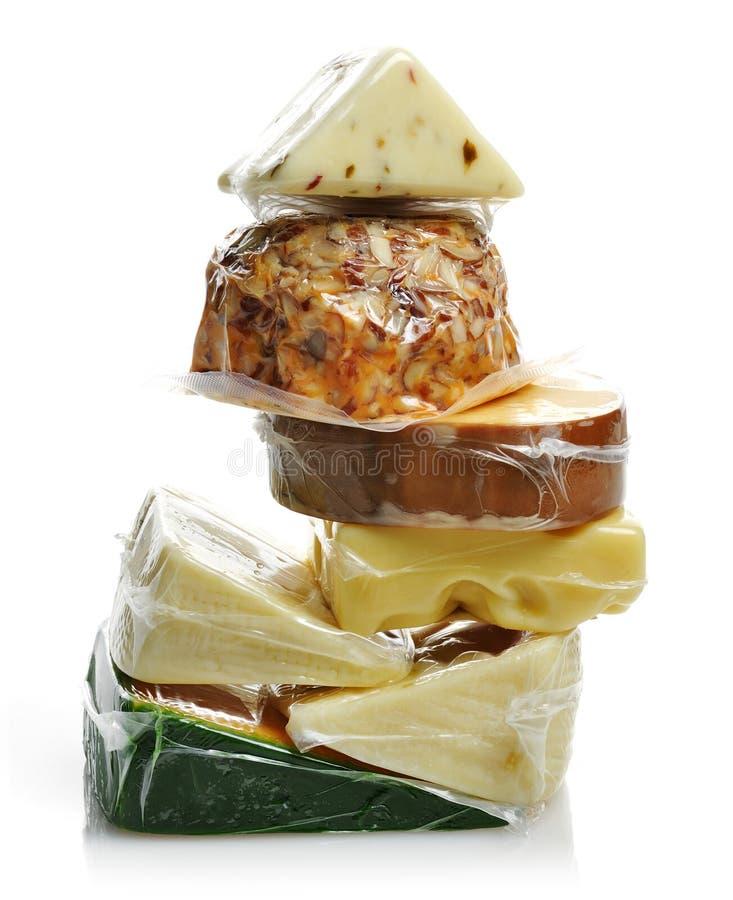 Het Assortiment van de kaas royalty-vrije stock afbeeldingen