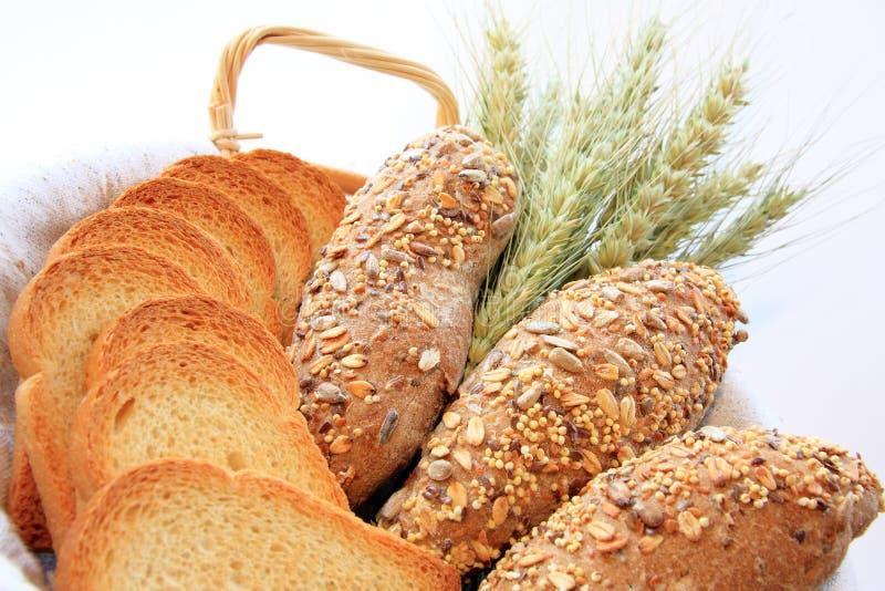 Het Assortiment van het brood royalty-vrije stock foto