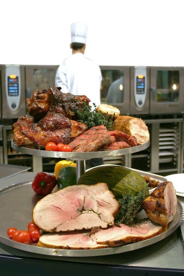 Het assortiment van het vlees stock fotografie