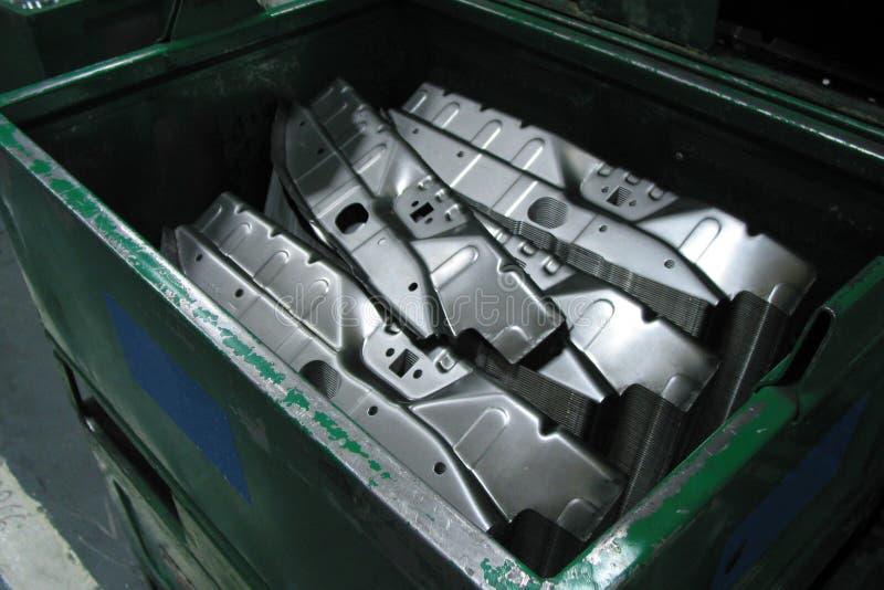 Het auto metaalwerk stock foto
