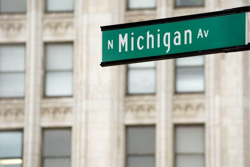 Het Ave van Michigan royalty-vrije stock foto