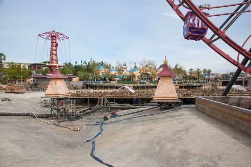 Het Avontuur van Californië van Disney stock foto