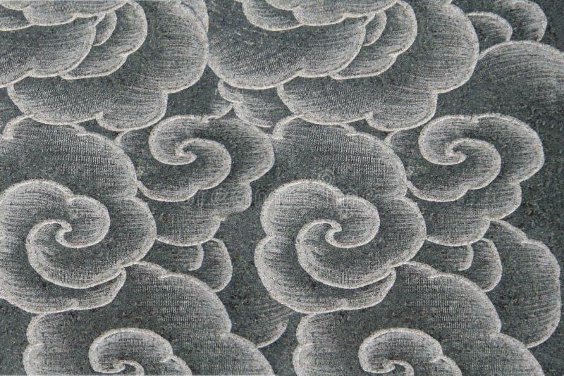 Het Aziatische patroon van de stijlbloem stock afbeeldingen
