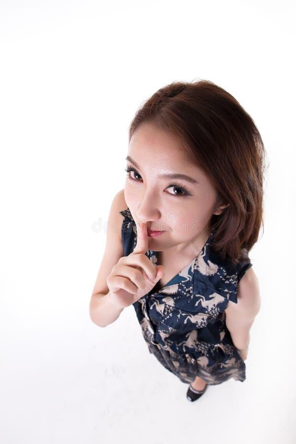 Het Aziatische Thaise portret woman stock foto's