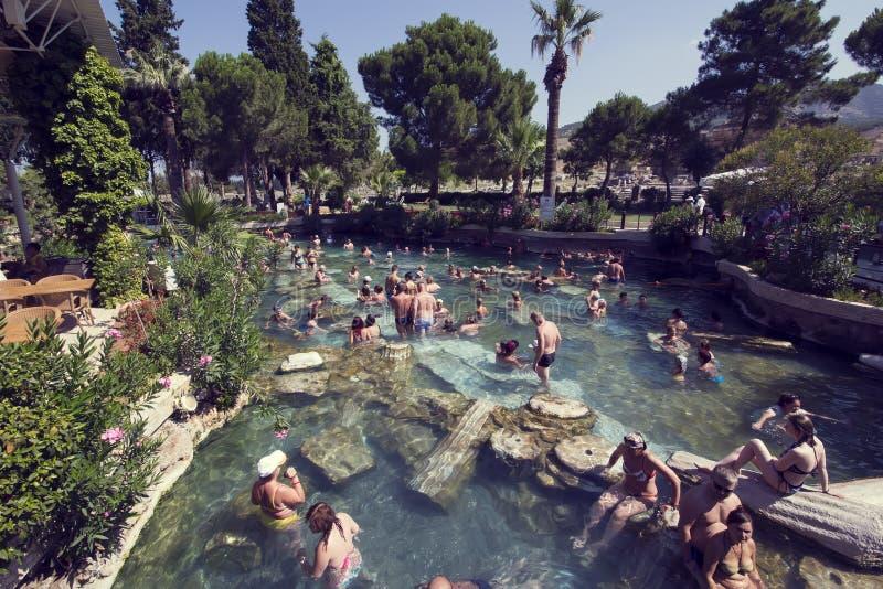 Het bad van Cleopatra royalty-vrije stock fotografie