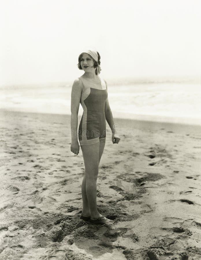 Het baden Schoonheid royalty-vrije stock fotografie