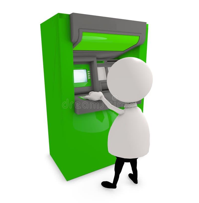 Het bankwezen van ATM vector illustratie
