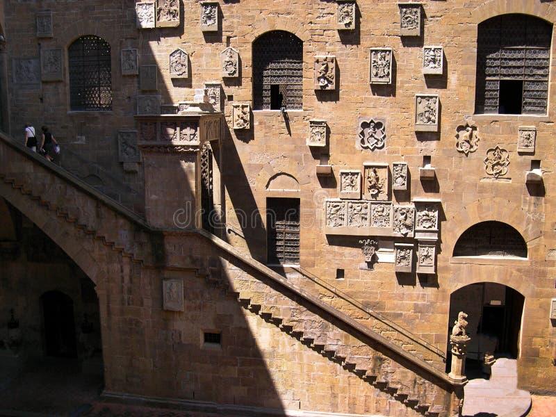 Het Bargello-Museum stock fotografie