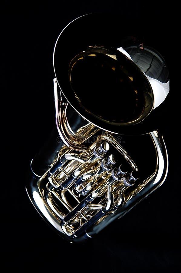 Het bas Euphonium van de Tuba royalty-vrije stock foto