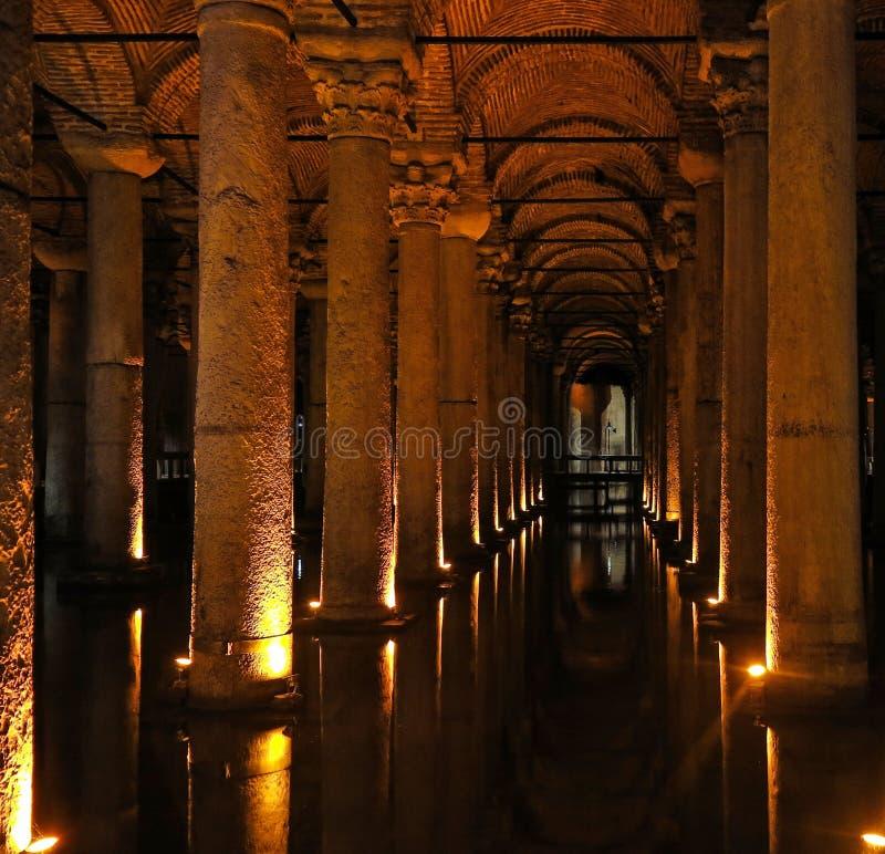 Het Basiliekreservoir - Ondergronds Waterreservoir Istanboel ...