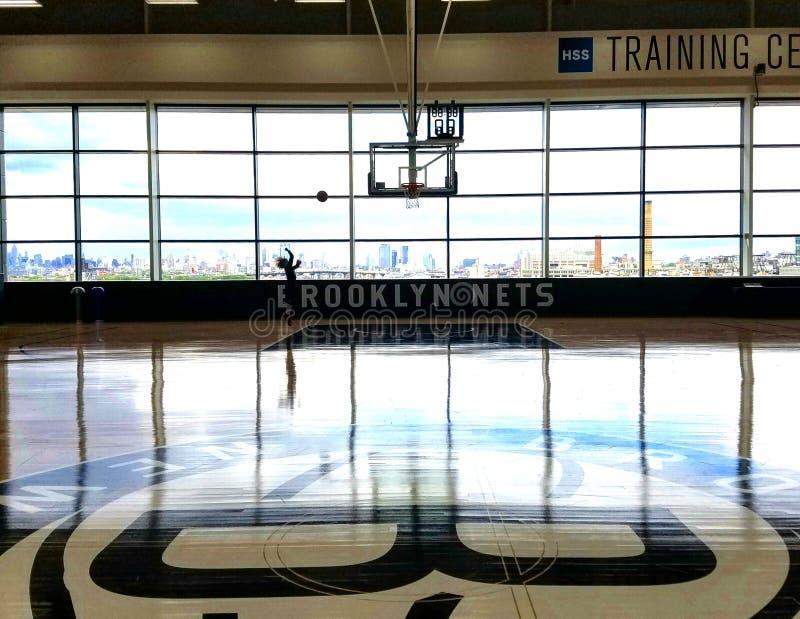 Het basketbal van Brooklyn royalty-vrije stock afbeeldingen