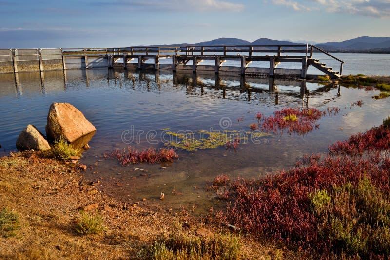 Het bassin van San Teodoro stock afbeelding