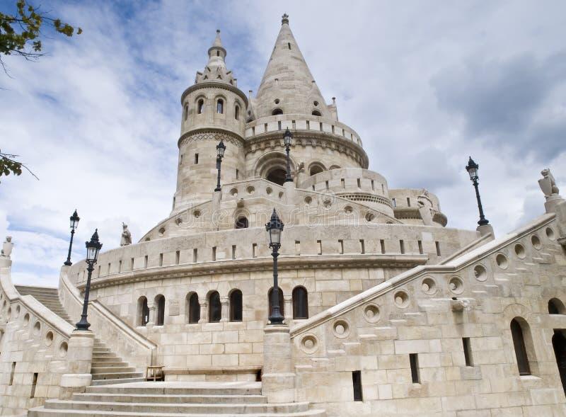 Het Bastion Boedapest van vissers royalty-vrije stock fotografie