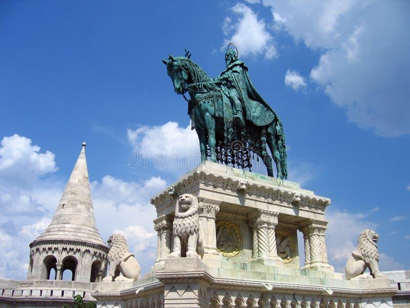 Het Bastion van de visser - Boedapest, Hongarije stock foto's
