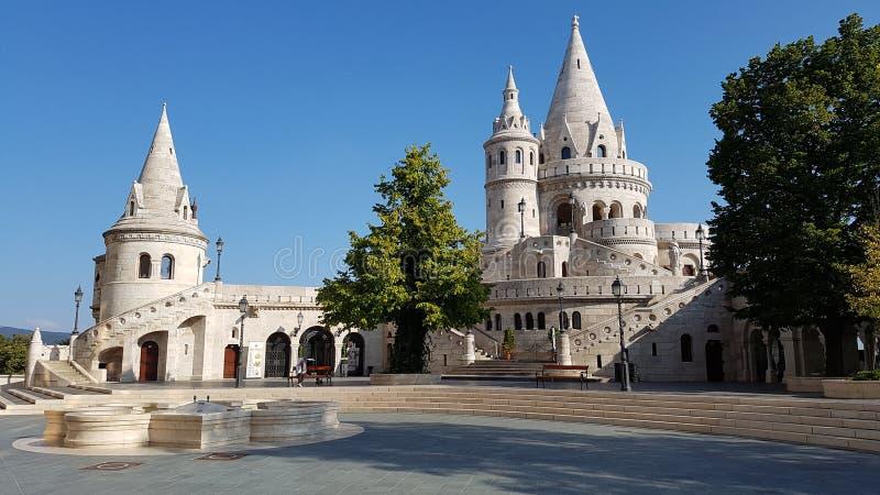 Het Bastion van de Vissers van Boedapest stock afbeeldingen