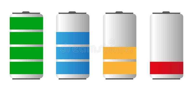 Het batterijleven royalty-vrije illustratie