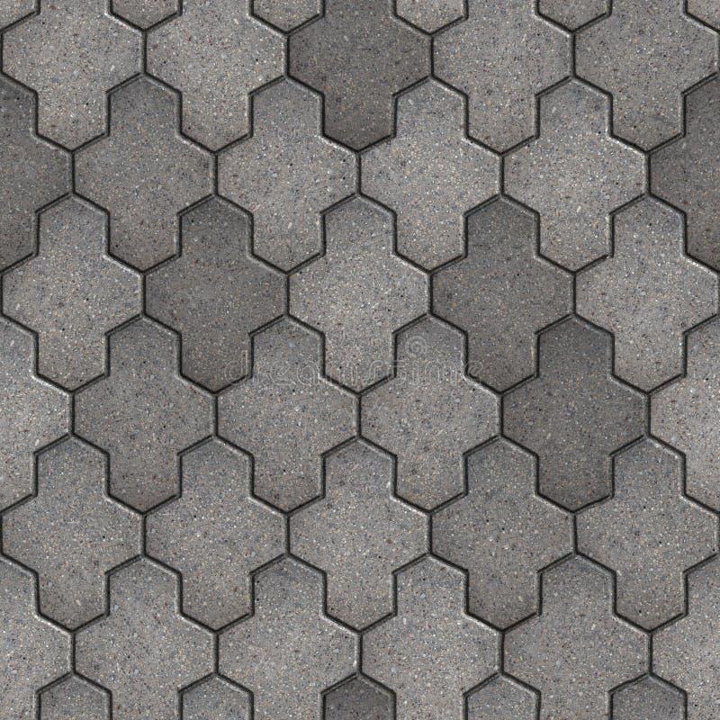Het bedekken Plakken. Naadloze Tileable-Textuur. stock fotografie