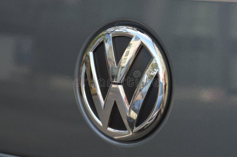 Het bedriegen Volkswagen stock foto's