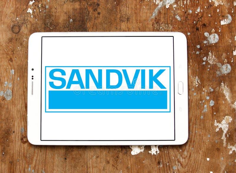 Het bedrijfembleem van de Sandviktechniek stock afbeeldingen