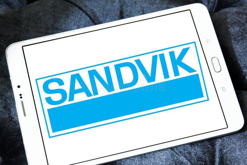Het bedrijfembleem van de Sandviktechniek royalty-vrije stock afbeelding