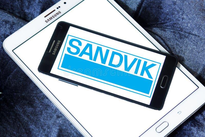 Het bedrijfembleem van de Sandviktechniek royalty-vrije stock foto