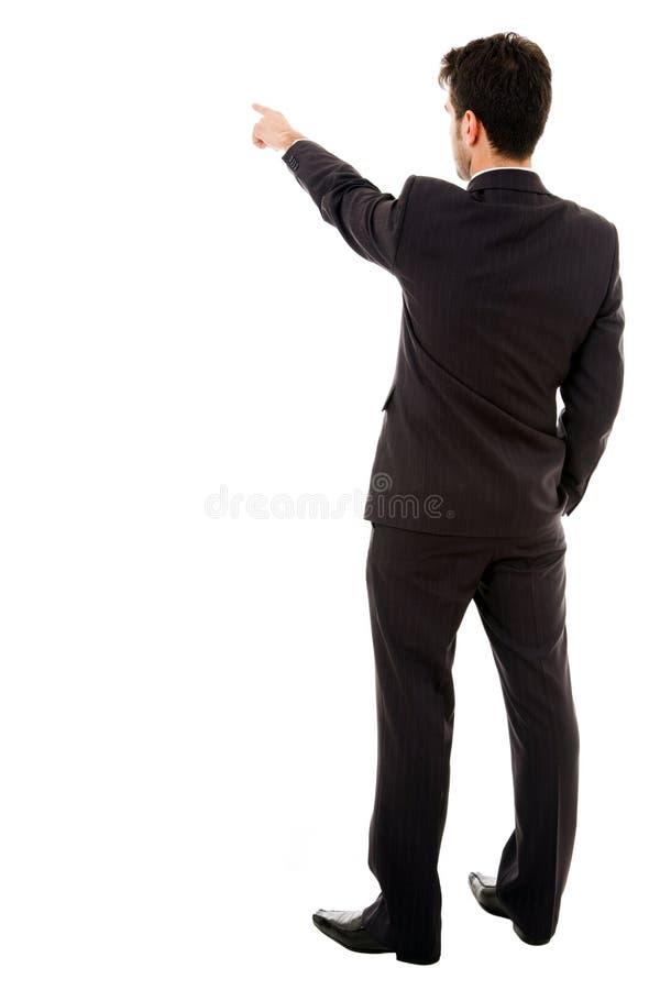 Het bedrijfs mens richten stock fotografie
