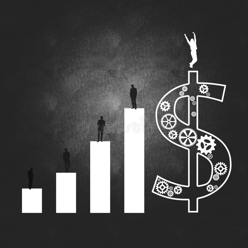Download Het Bedrijfssucces Van De Bedrijfseconomie En Stock Illustratie - Illustratie bestaande uit spel, directing: 29513777