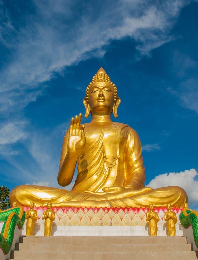 Het beeld van Boedha stock fotografie