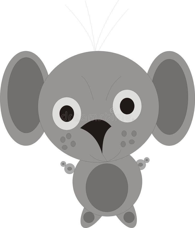 Het beeld van de de muishond van de rat stock foto