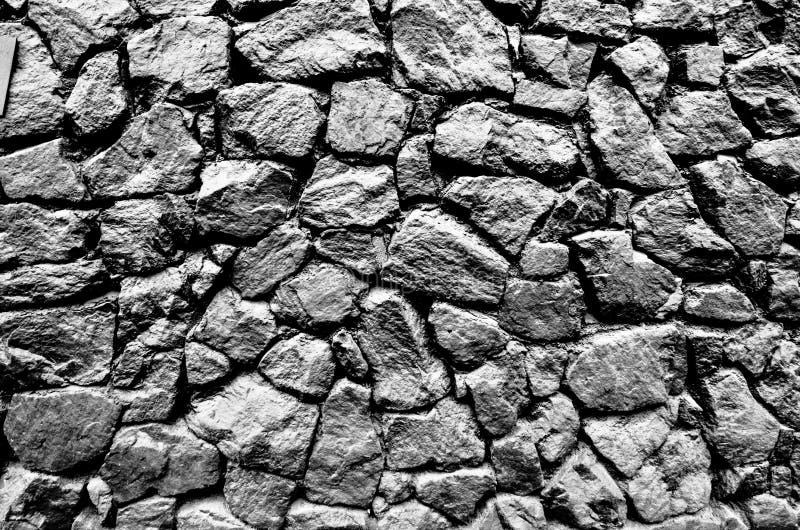 Het beeld van de muur, achtergrond Het beeld omvat een effect de zwart-witte tonen stock fotografie