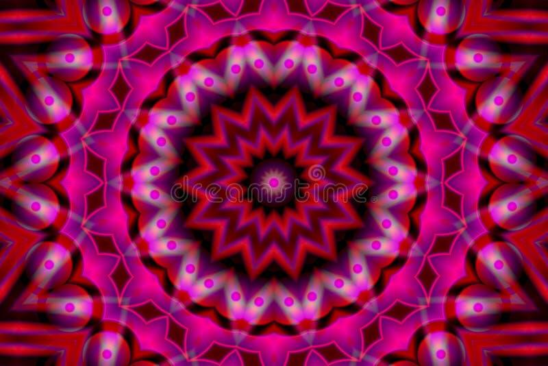 Het Beeld van de voorraad van Abstracte Caleidoscoop vector illustratie