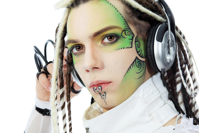 Het beeld van DJ stock foto's
